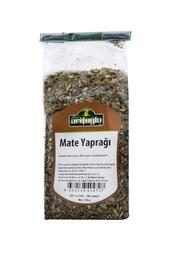 içerdiği yüksek orandaki kafein ile uyarıcı etkiye sahip organik ve doğal mate yaprağı. Arifoğlu güvencesiyle hemen deneyin.