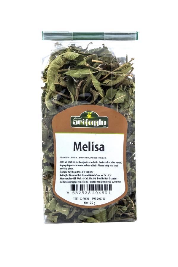 itina ile toplanıp elenen bitkilerden paketlenen organik ve doğal melisa. İstanbul içine aynı gün teslim fırsatıyla