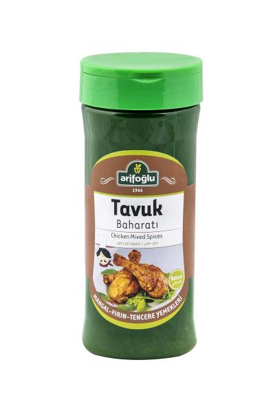 fırında veya mangalda kullanabileceğiniz tamamen organik ve doğal tavuk baharatı. Arifoğlu lezzetini 10dangelsin.com'da deneyin.