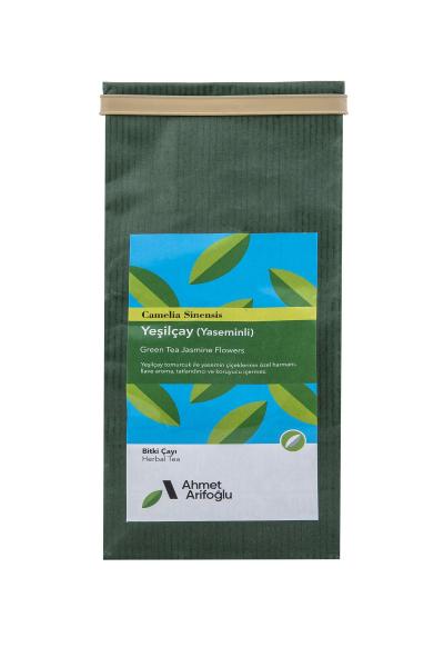 Arifoğlu tamamen organik ve doğal yaseminli yeşil çay. Hemen deneyin.